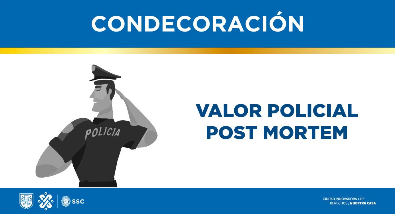 Valor policial post mortem