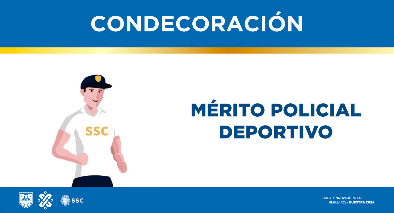 Mérito policial deportivo