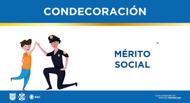 Condecoración al mérito policial social