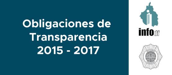 Obligaciones de Transparencia 2015 - 2017