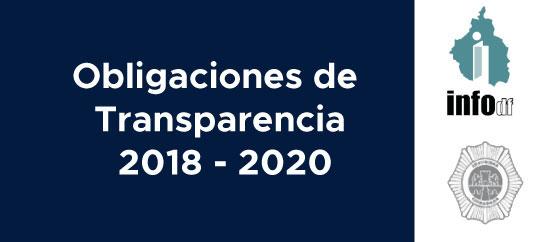 Obligaciones de Transparencia 2018 - 2020