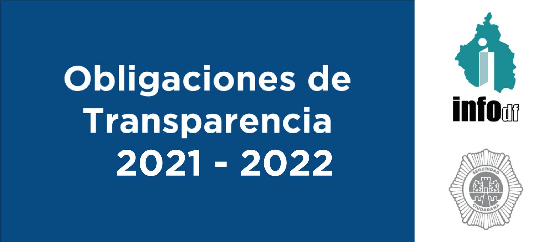 Obligaciones de Transparencia 2021