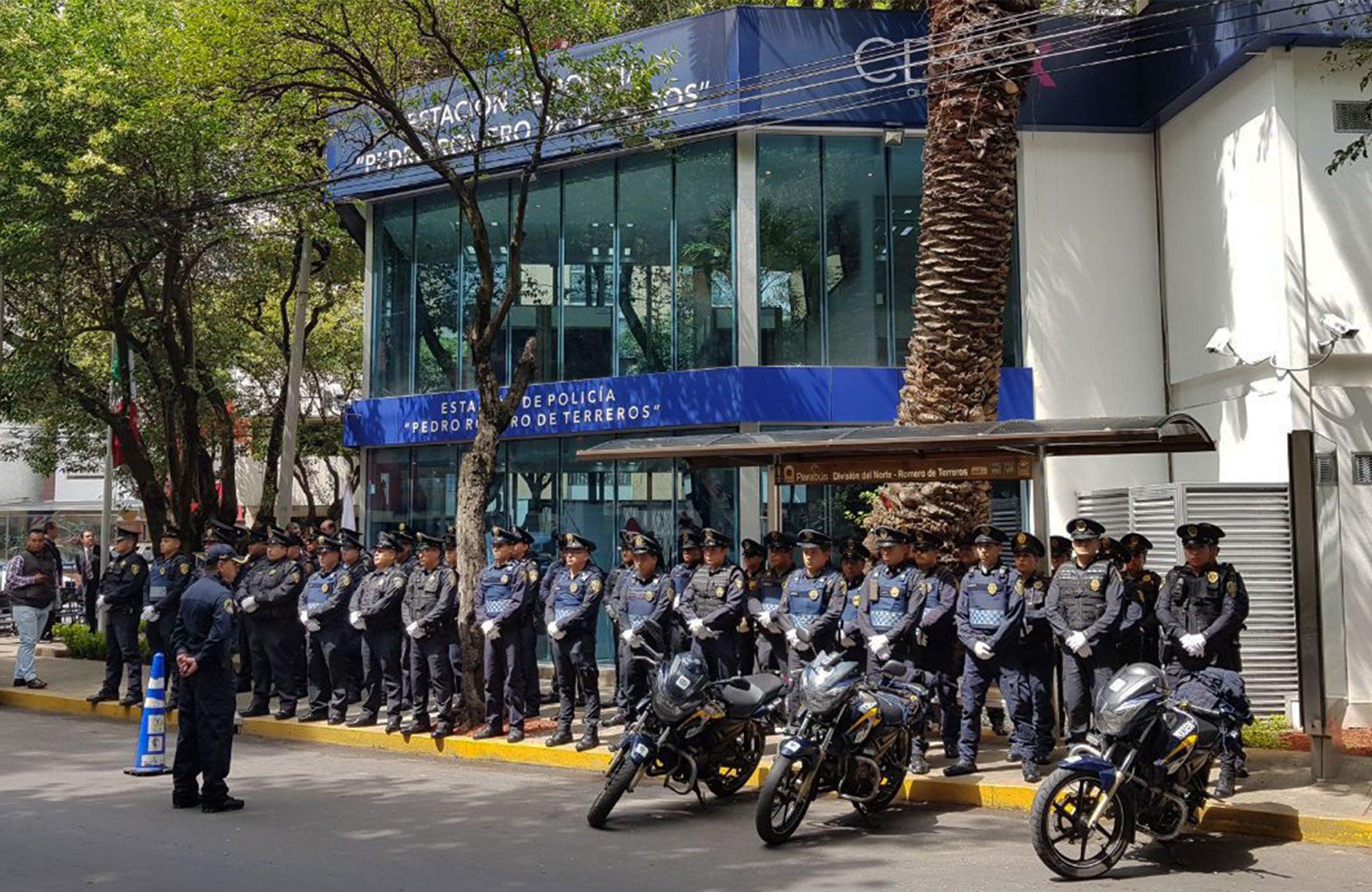 Inaugura Hae Estación De Policía Romero De Terreros En La