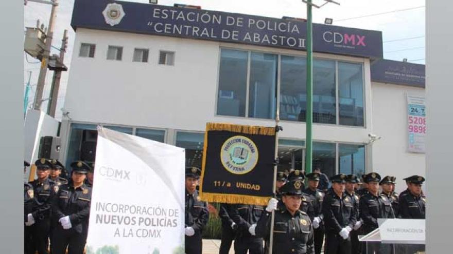 Nueva generación de policías refuerza la seguridad en Iztapalapa