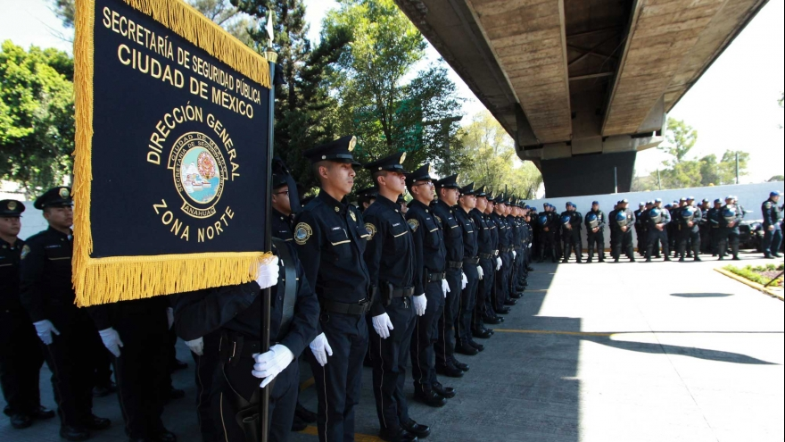 Se suman a la seguridad de la delegación Iztacalco, mil 263 nuevos egresados de la Universidad de la Policía