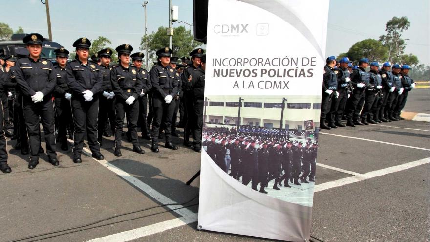 Se suman a la seguridad de la zona sur nuevos egresados de la Universidad de la Policía