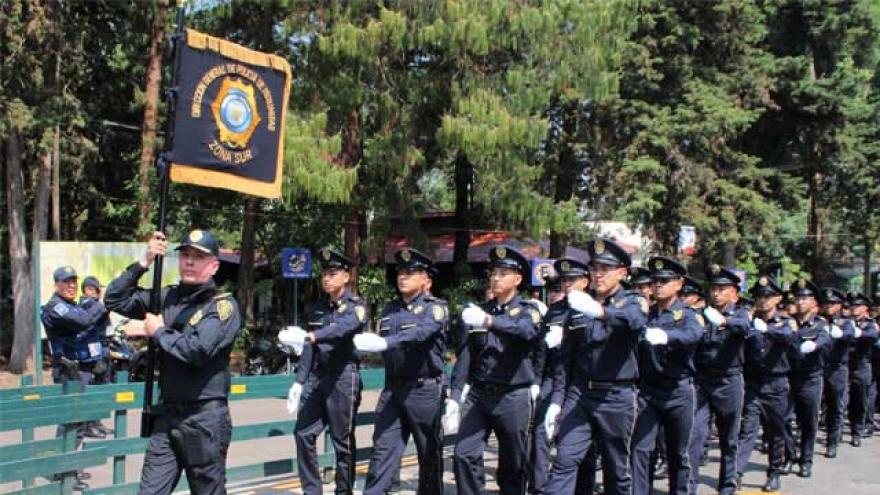 Refuerza SSP-CDMX la seguridad en la delegación Tlalpan